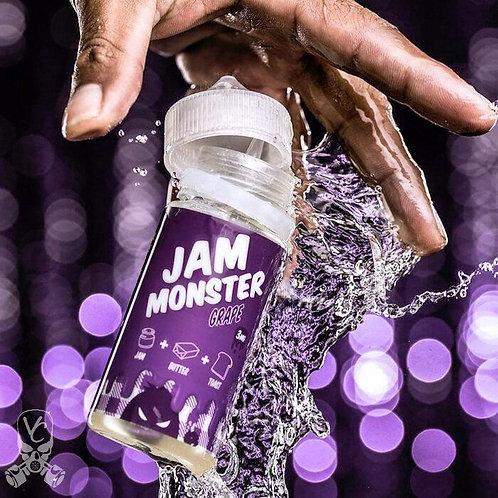 Жидкость Jam Monster Grape - 100мл 3мг. ОРИГИНАЛ. США.