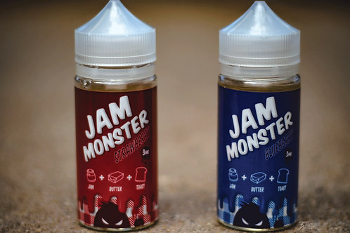 """Jam Monster"" Strawberry and Blueberry - 100мл. 3мг."