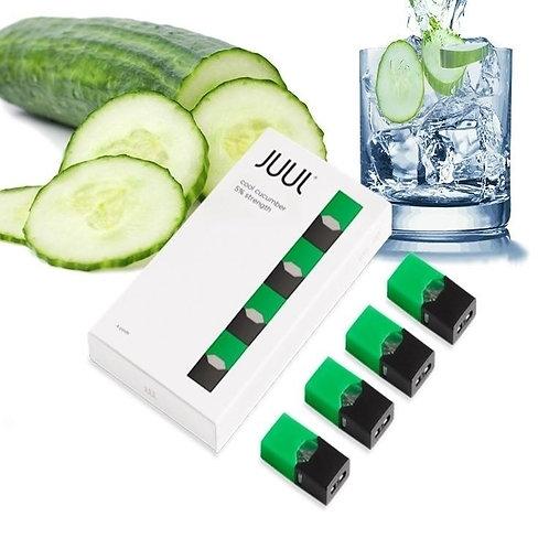 Поды для JUUL - Cucumber - упаковка из 4х картриджей