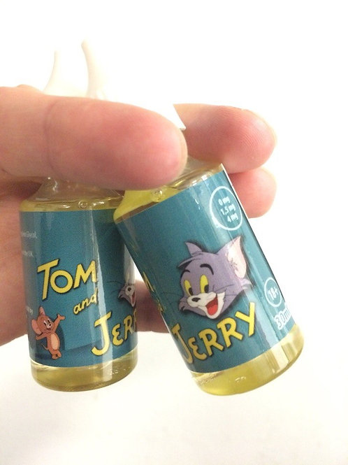 "Жидкость ""Том и Джерри"" - 30 мл 4 мг. Англия."