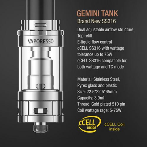 Gemini TANK - Бак от VAPORESSO