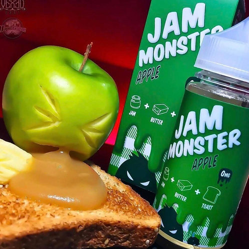Жидкость JamMonster Apple, 100 мл 3 мг - США, Оригинал.