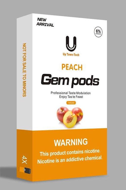 Gem Pods - поды для JUUL - Вкус Персик  - USA