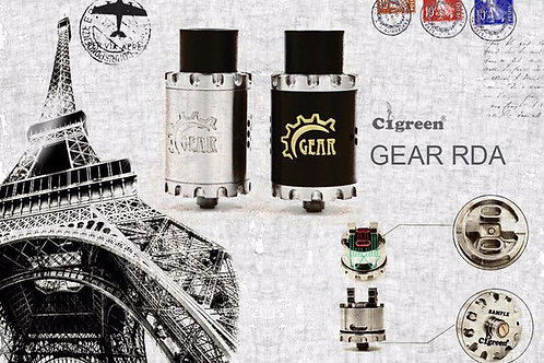 Дрипка - Cigreen Gear RDA 22mm - сталь/черная