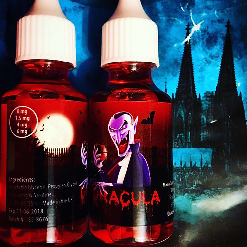 Премиальная жидкость - Dracula 30мл. 4мг.
