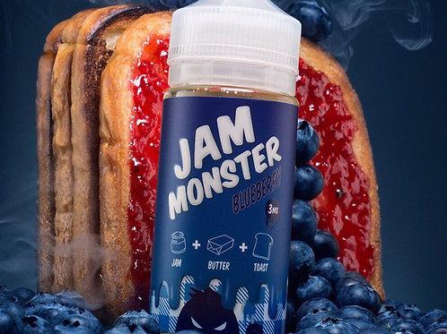 Жидкость JamMonster Blueberry, 100 мл 3 мг - США, Оригинал.