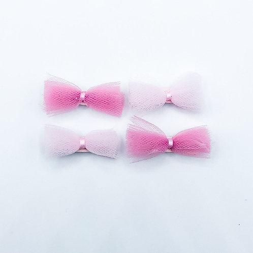 The Tulle Mini Hair Bows