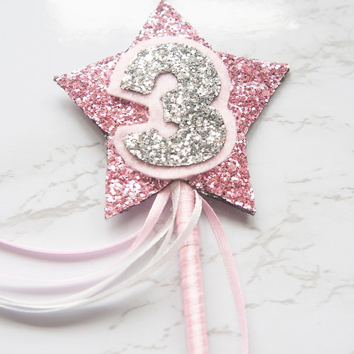 Handmade Personalised Birthday Fairy Wand