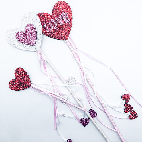 Valentines Day Fairy Wands