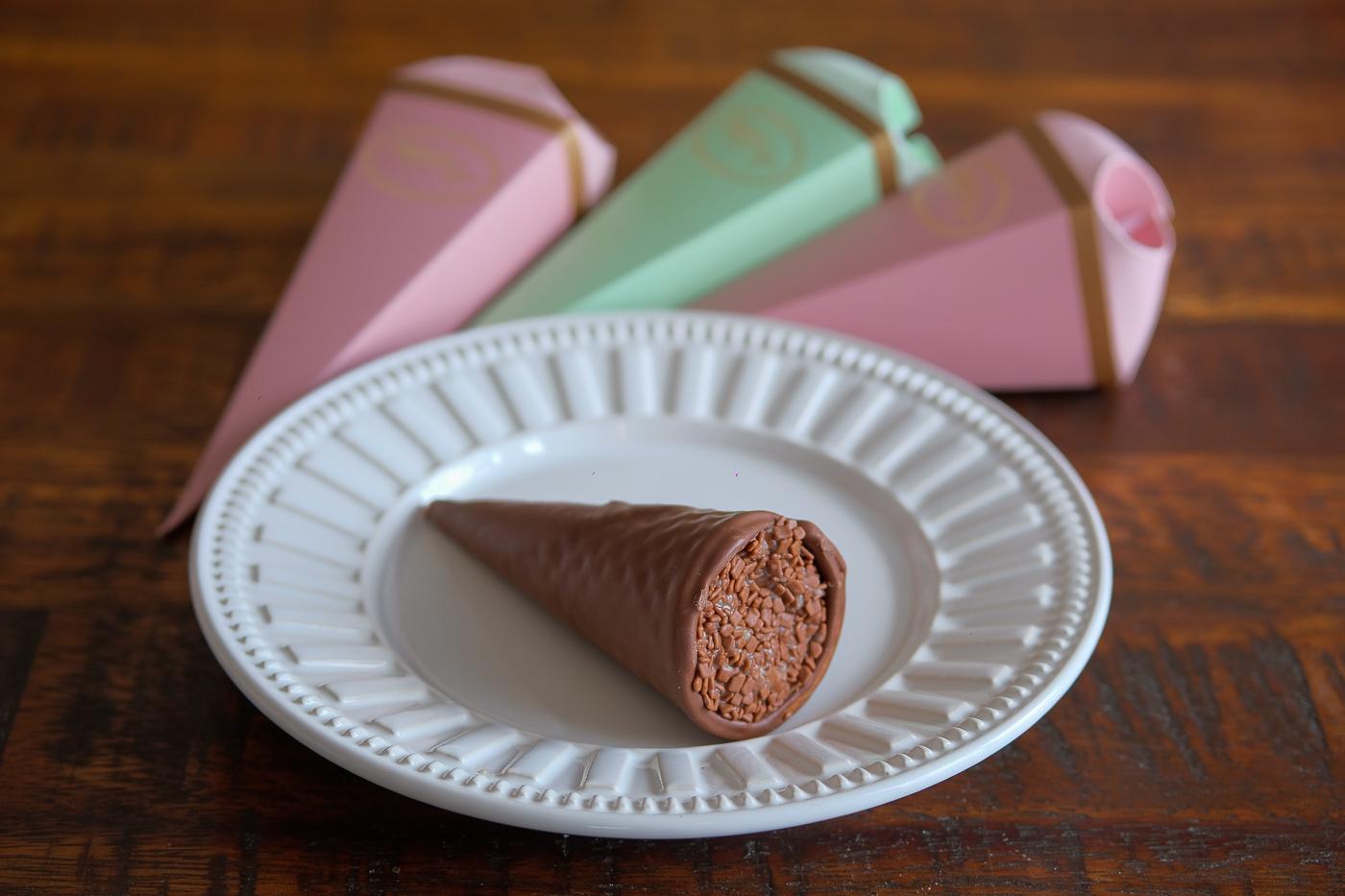 Cone de Chocolate