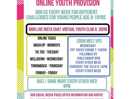 ONLINE YOUTH PROVISION