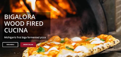Bigalora menu and online ordering