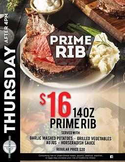 Grand Tavern Rochester Hills | Best Prime Rib Detroit