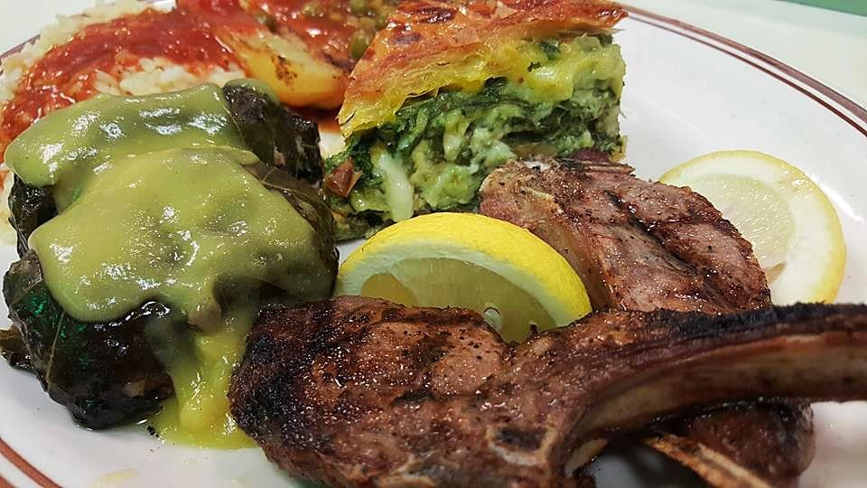 Dimitri's Opa Restaurant | Lamb Chop