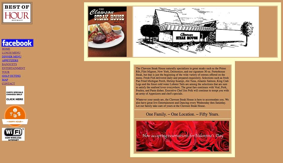 The Clawson Steakhouse   Best of Detroit Restaurants