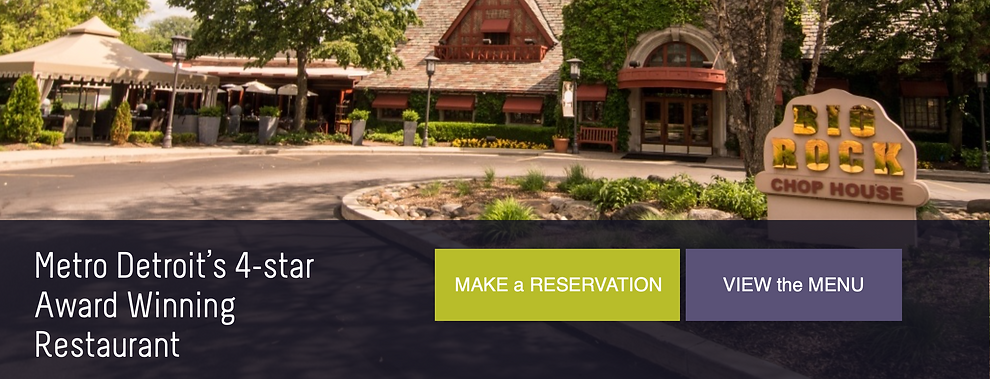 Best of Detroit steakhouses | Big Rock Chophouse