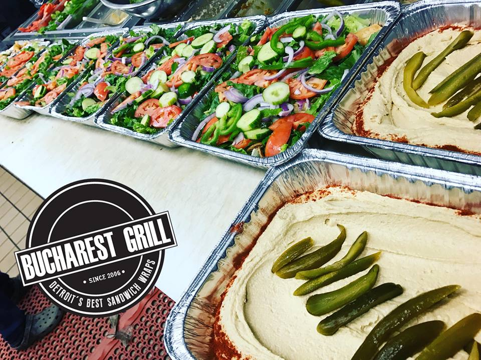 Bucharest Grill | Catering