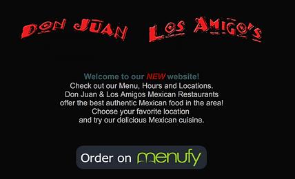 Don Juan Los Amigos   Online Ordering