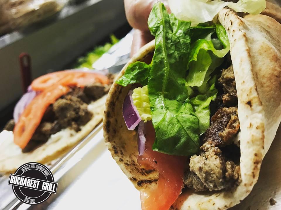 Bucharest Grill | Sandwich