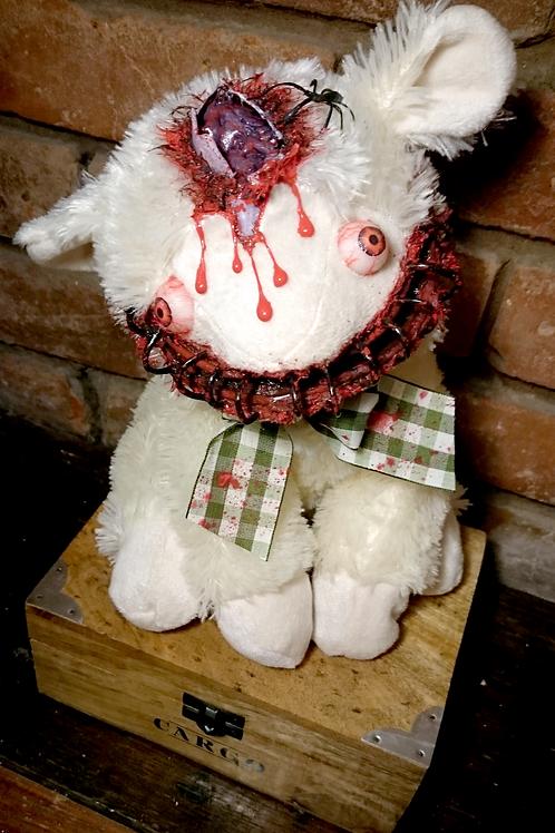 Crazed Easter Lamb