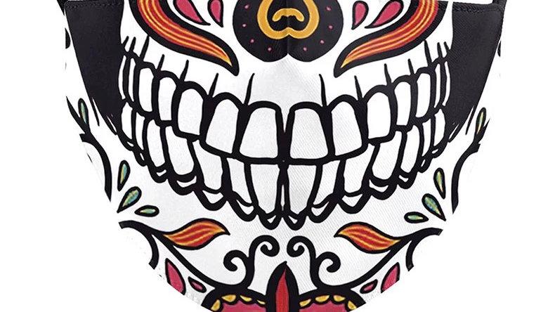 Dia de los Muerte COVID-19 Filter Mask
