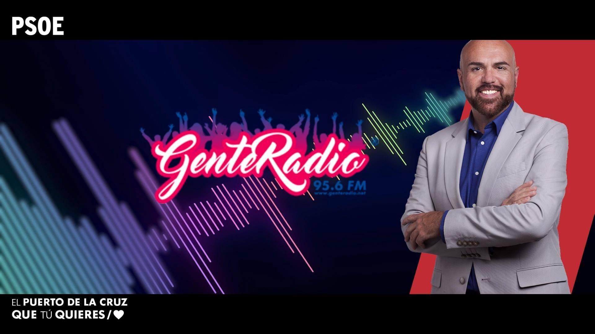 Entrevista a Marco González en Gente Radio 29-5-19