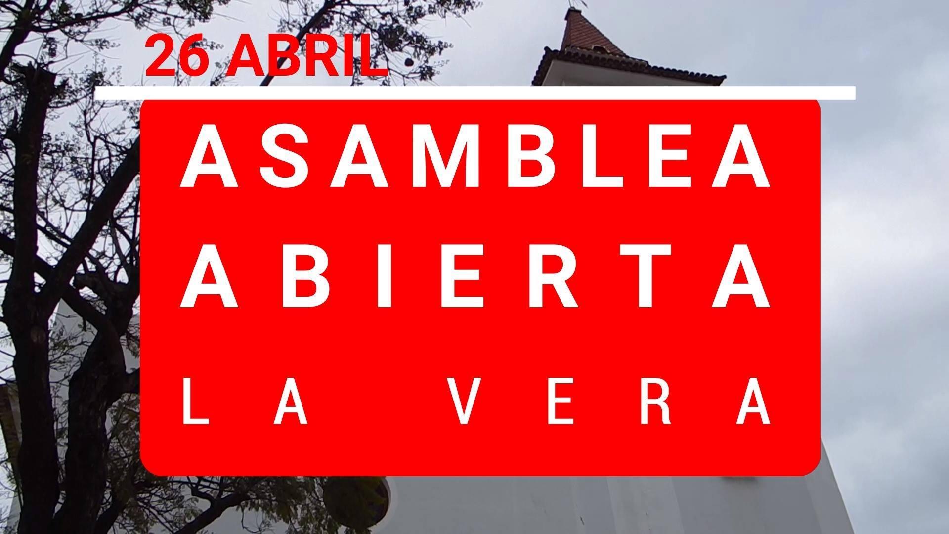 #diariodecampaña ASAMBLEA ABIERTA EN EL BARRIO DE LA VERA (CIERRE DE CAMPAÑA)