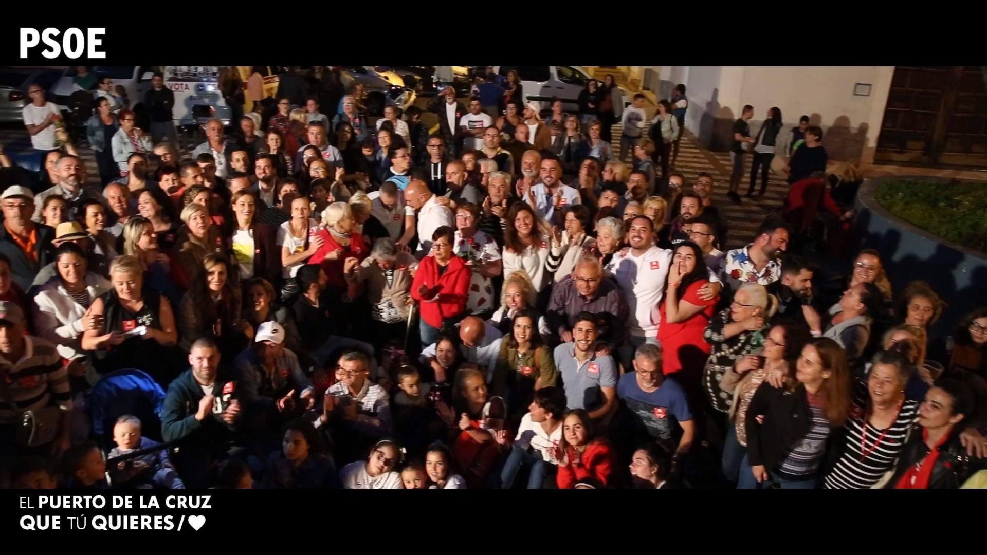 Elecciones municipales - Asamblea Abierta en La Vera - 22 de mayo