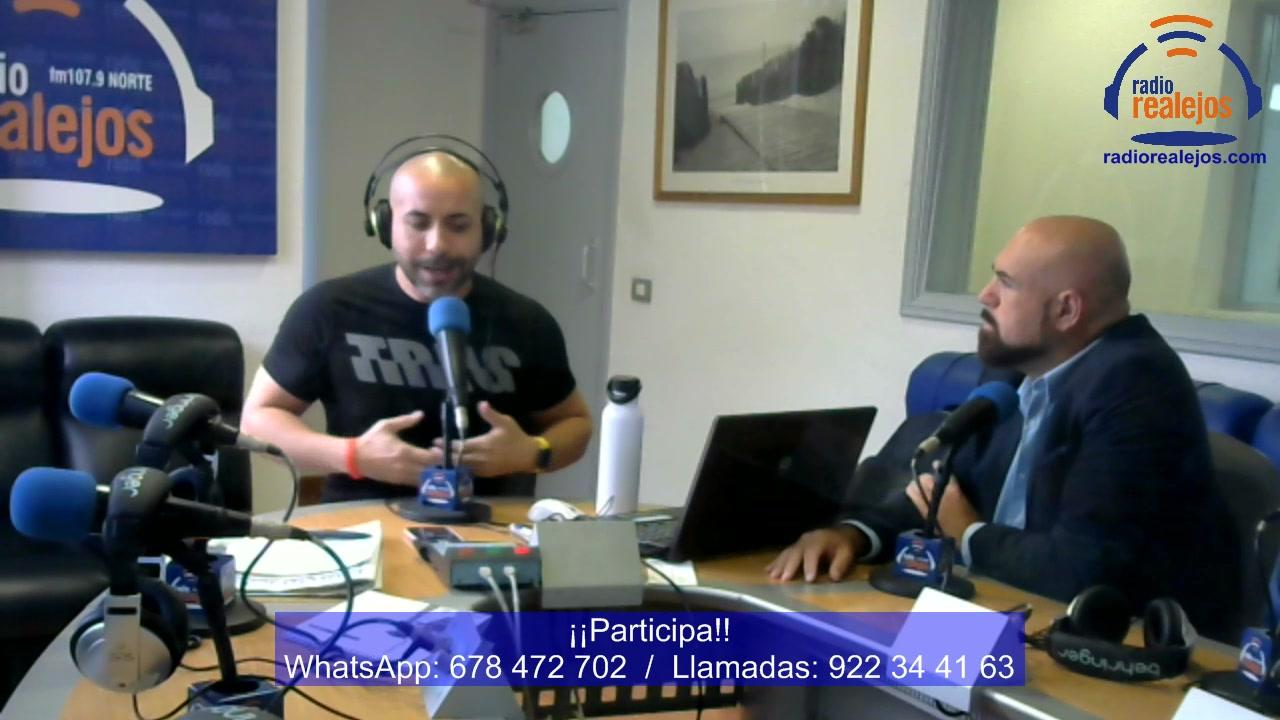 Emisión de vídeo de la entrevista con Marco González, candidato a la alcaldía del Puerto de la Cruz.