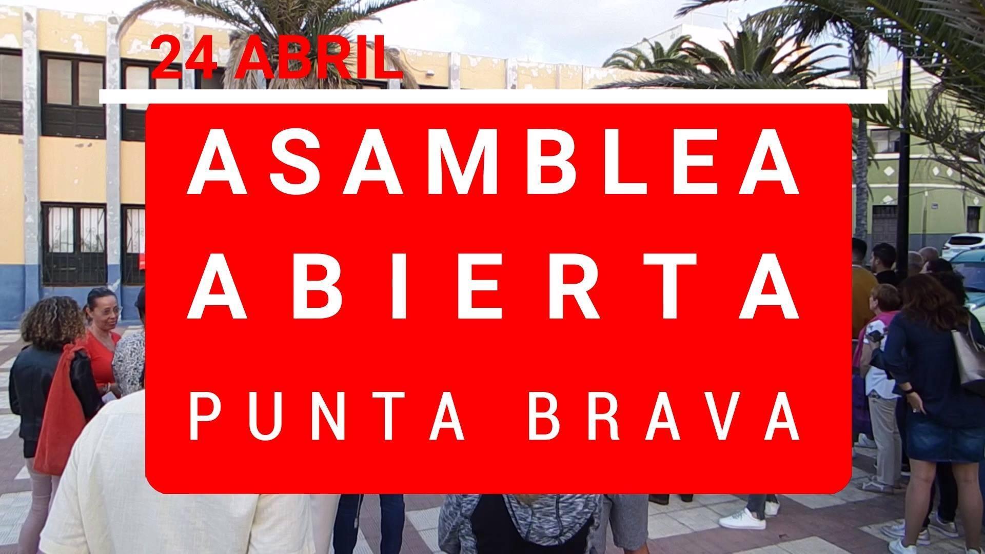 #diariodecampaña - ASAMBLEA ABIERTA EN PUNTA BRAVA
