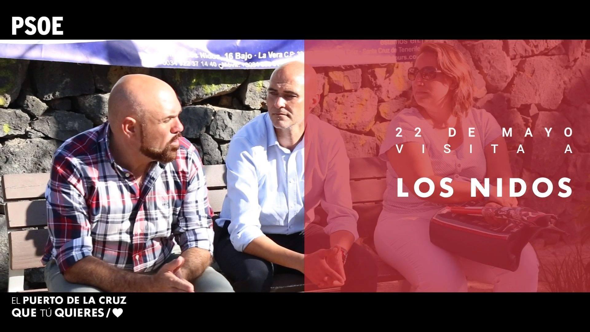 Elecciones municipales - Visita a Los Nidos - 22 de mayo