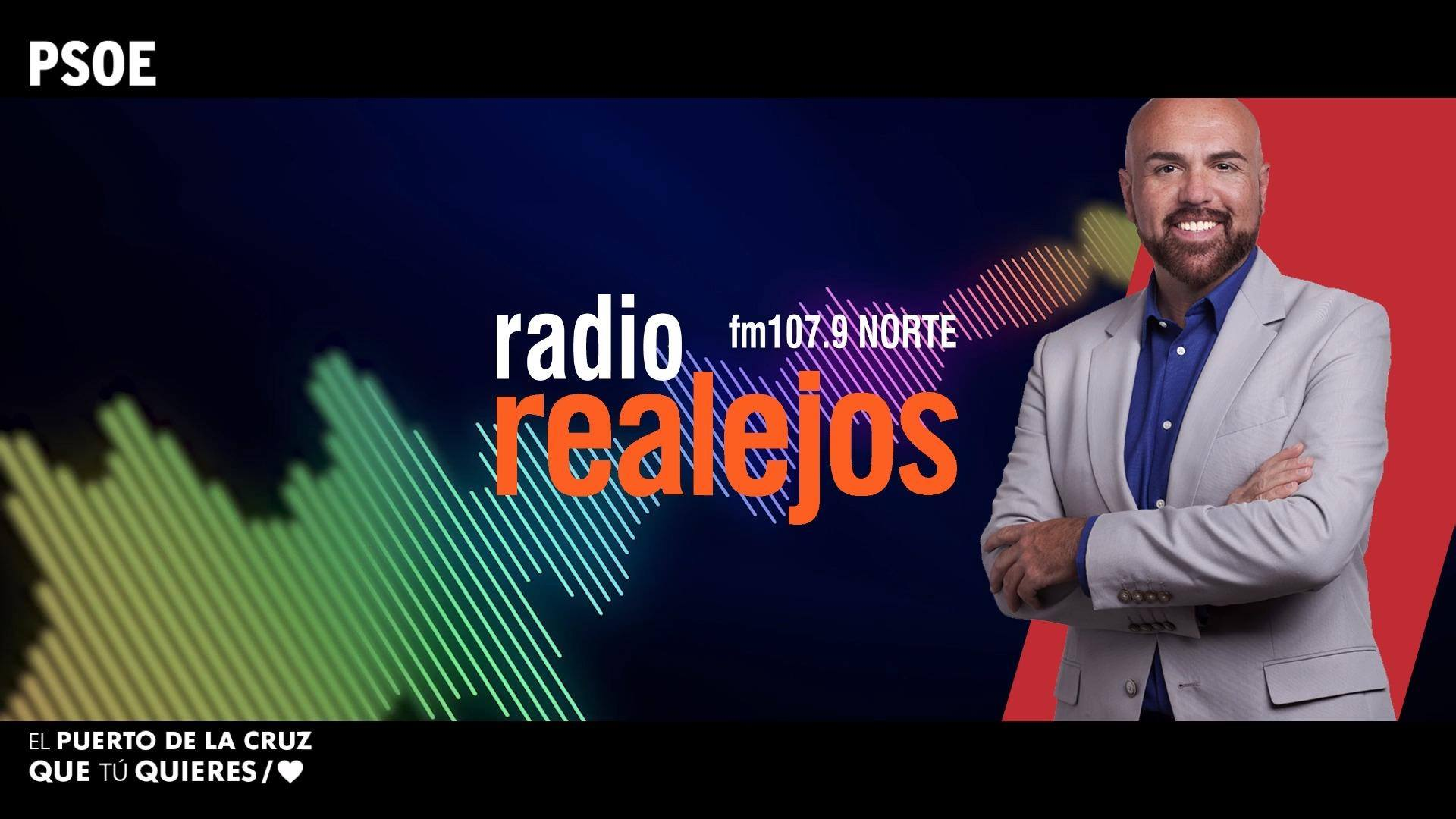 Entrevista a Marco González Mesa en radio Realejos - 28 mayo 2019