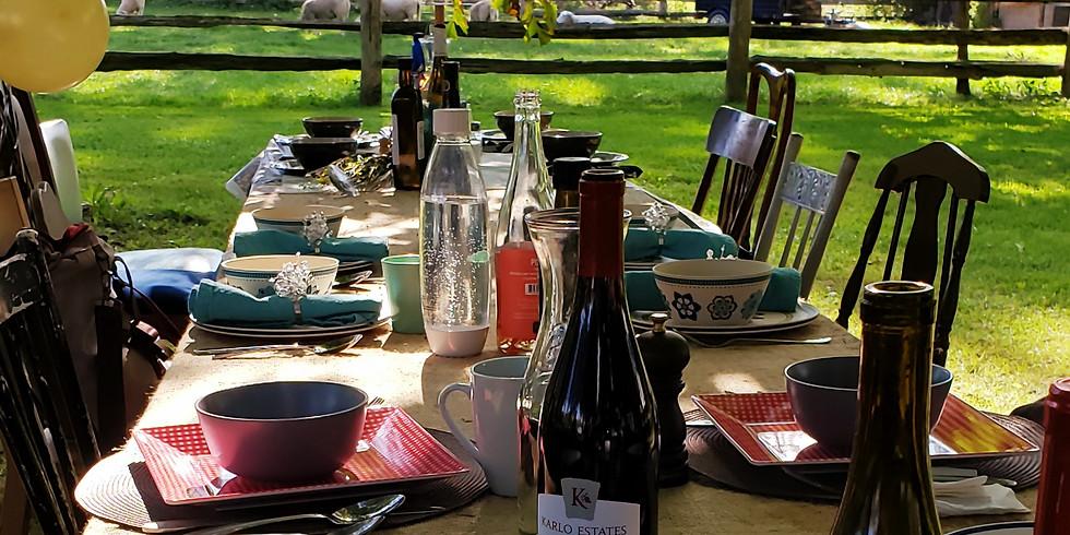 Table-at-the-Farm Harvest Dinner