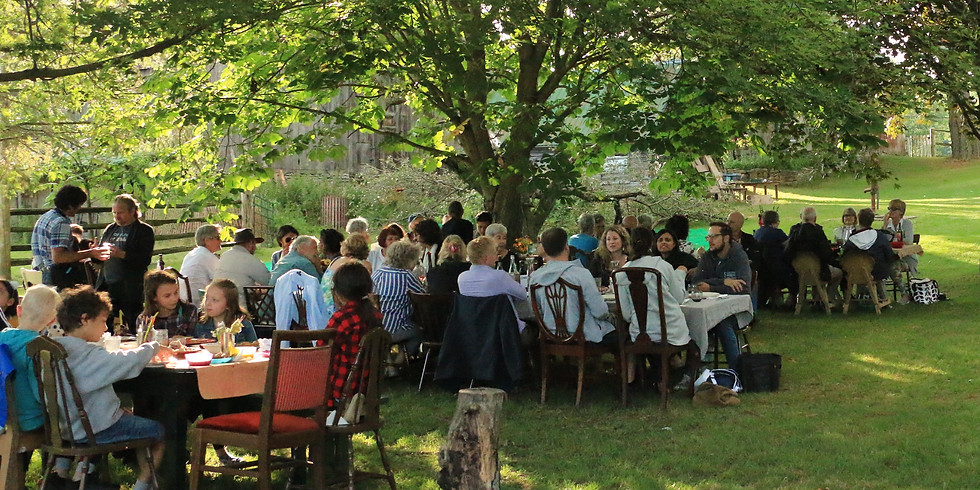 Table-at-the-Farm Harvest Dinner with Surprise-Guest-Chef