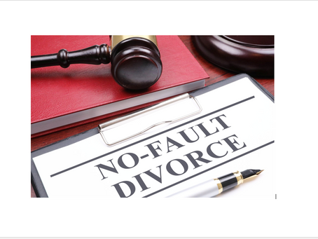 The Differences Between Fault and No-Fault Divorces