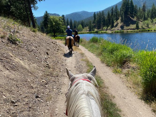 Horseback Trail Rides around the Ranch