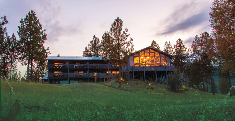 The Lodge at Sunset