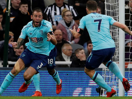 Newcastle 0-1 Bournemouth   Match Report