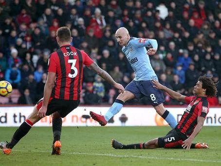 Bournemouth 2-2 Newcastle   Match Report