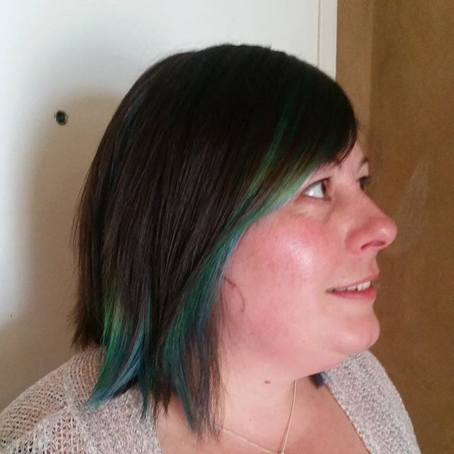 Bit of green and blue fun!
