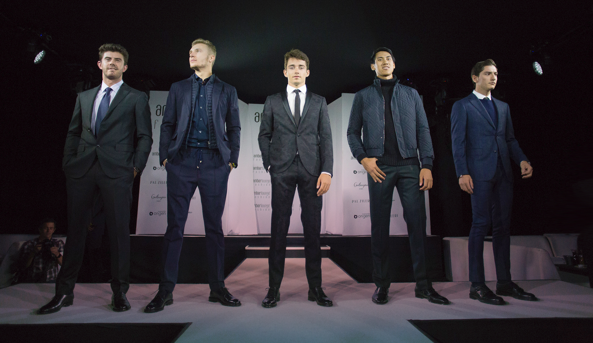 Amber Lounge Mexico City 2017 - F1 Drivers on the Runway