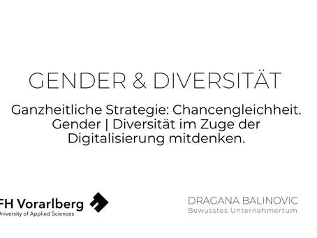 Genderfragen und Digitalisierung    AIT Wien und FH Vorarlberg