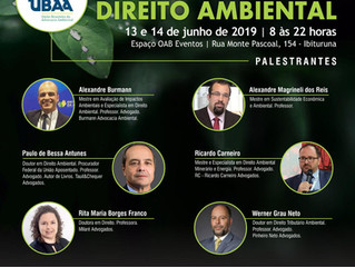 CONGRESSO DE DIREITO AMBIENTAL UBAA EM MINAS GERAIS