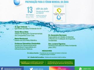 BURMANN PARTICIPARÁ DE SEMINÁRIO PREPARATÓRIO AO FÓRUM MUNDIAL DA ÁGUA EM BRASÍLIA