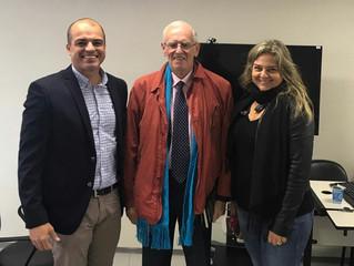 BURMANN PARTICIPA DE EVENTO NA PUCRS COM MICHEL PRIEUR