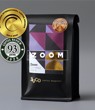 ZOOM Espresso Blend - GOLD Medal Winning Coffee