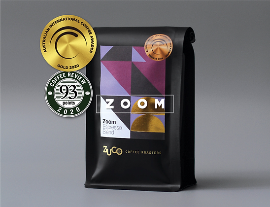 ZOOM Espresso Blend - GOLD Medal Winning Coffee
