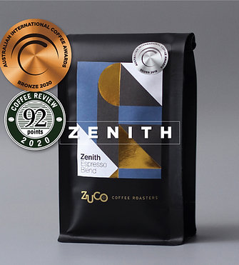 ZENITH Espresso Blend - Award Winning Coffee