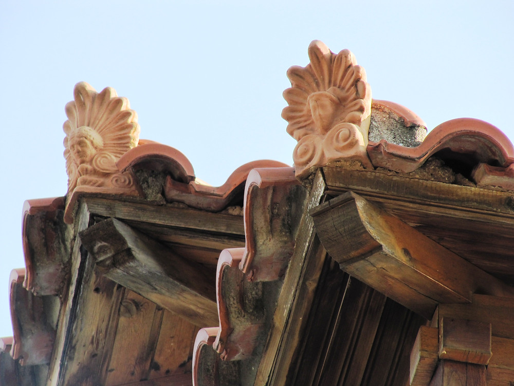 Antefisse con Athena (Skopelos)