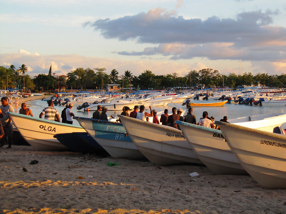 Pescatori al tramonto (Bayahibe)
